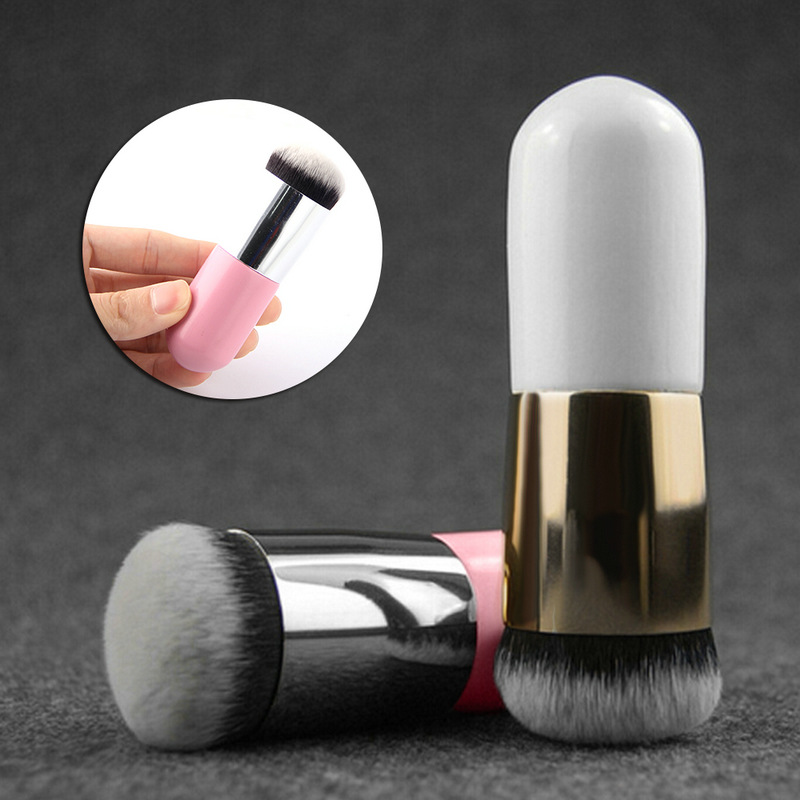 Flat Cream Makeup Brushes