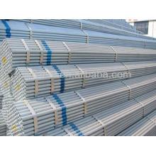 Tubo de acero galvanizado de pared pesada a la venta 400g / m2