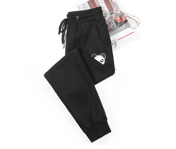 Comfortable Leisure Pattern Cotton Sports Pants