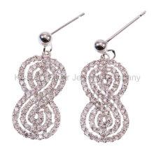 Ювелирные изделия, серебряные ювелирные изделия, серебряные серьги ювелирных изделий (KE3168)