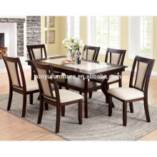 Solid wood dining table and chair set XYN1472