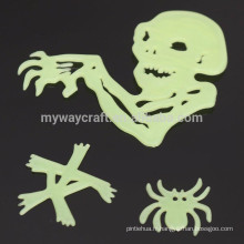 Noctilucent Wall Stickers Horror House Glow in Dark Halloween Home Decor