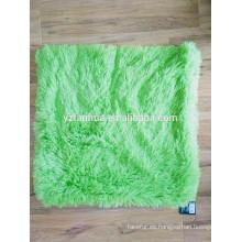 Almohada suave cubierta de lana barata felpa Venta por mayor almohada