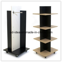 Wooden Floor Display Rack. Wooden Floor Display Stand (MDF-0452)