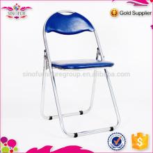 Vente en gros Qingdao Sinofur à bas prix OEM meubles d'extérieur chaise pliante en métal / bois / plastique pour hôtel
