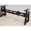 Industrial Crank Coffee Table Base Black Color