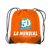 impressão personalizada de mochila com cordão
