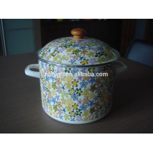 Juego de ollas de esmalte alto, utensilios de cocina de esmalte Juego de ollas de esmalte alto, utensilios de cocina de esmalte