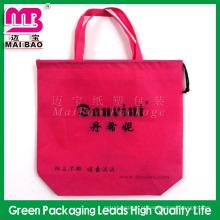 A gsm recyclable do uso do mantimento personalizou o saco não tecido livre da loja do tote dos pp do AZO