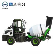 self loading mobile concrete mixe/rconcrete mixer pump/concrete mixer with pump