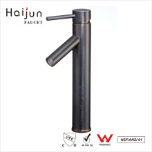 Haijun de alta qualidade ornamentado 0.1 ~ 1.6MPa Deck Mounted Single Handle Basin Faucet