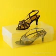 Коробка для упаковки пластиковых прозрачных ботинок (прозрачная коробка для обуви из ПВХ)