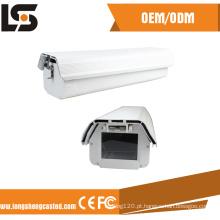 O alojamento impermeável da câmera do CCTV da explosão de Hikvision de alumínio morre carcaça