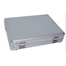 Silberner tragbarer personalisierter Aluminiumlaptop-Kasten