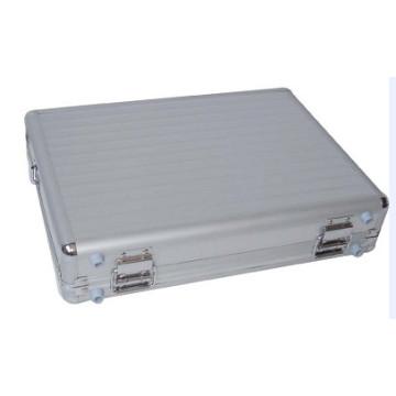 Silver Portable Personalized Aluminum Laptop Case