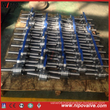 Forged Steel Thread Ball Valve with Extend Pipe