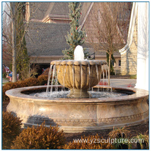 Outdoor Large Size Urm Marble Water Fountain