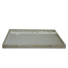 CFN-TYM Natural handmade Freshwater Shell hotel amenity Tray in Medium Size