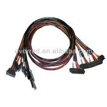 Personalizado SFF-8088 a SFF-8482 SAS CABLE (ERC387)