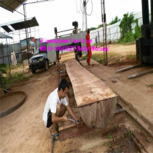Woodhorizontal de scie à ruban grande scierie Machine