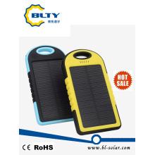 Cargador móvil solar impermeable al aire libre 4000mAh del banco de la energía