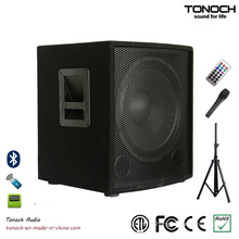 12 Inches Subwoofer Wooden Stage Speaker with PA System