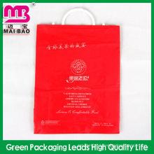 High quality pe fork ear plastic packaging bags for garment