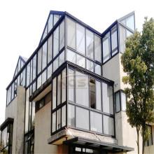 Jardin d'été coulissant en aluminium en verre extrudé