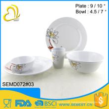 restaurant used new design 5PC melamine dinner set