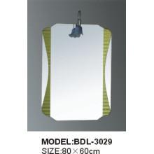 Espejo de baño de vidrio de 5 mm de espesor de plata (BDL-3029)