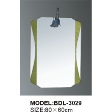 Espelho de vidro do banheiro da prata da espessura de 5mm (BDL-3029)