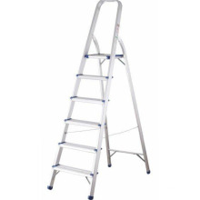 Escalera de aluminio de 7 pasos