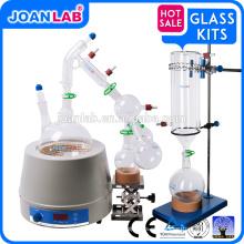 JOAN Pequeño equipo de destilación de trayecto corto, 2000ml Juego de destilación de trayecto corto