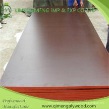 A madeira compensada do preto 18mm de Brown da categoria da construção do núcleo da folhosa enfrentou a madeira compensada