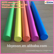 broom painted wooden handle/colorful wooden handle/colorful wooden toy handle