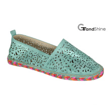 Women′s Casual Hollow out Espadrille Flat Shoes