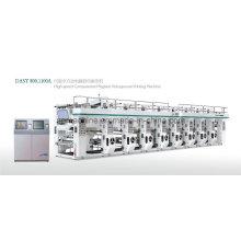 Máquina de impressão de alta velocidade profissional do gravure (velocidade de 130m / min)