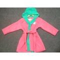 Low Price Low MOQ Customized 100% Cotton Kids Baby  Bathrobe