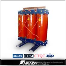 Puissance fréquence résine coulée puissance électrique type sec transformateur 160kva