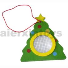 Wooden Kaleidoscope with Christmas Tree (81399)
