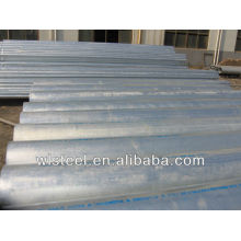astm a53 a106 b tubería de acero galvanizada en caliente