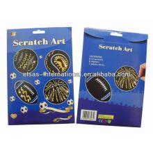 Scratch Art Paper / Scratch Off Card / Scratch Card Price