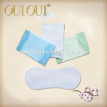 Tampons hygiéniques en coton de 155 mm d'utilisation quotidienne