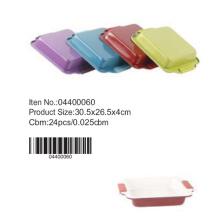 Moule à gâteau en céramique colorée avec manche silicone