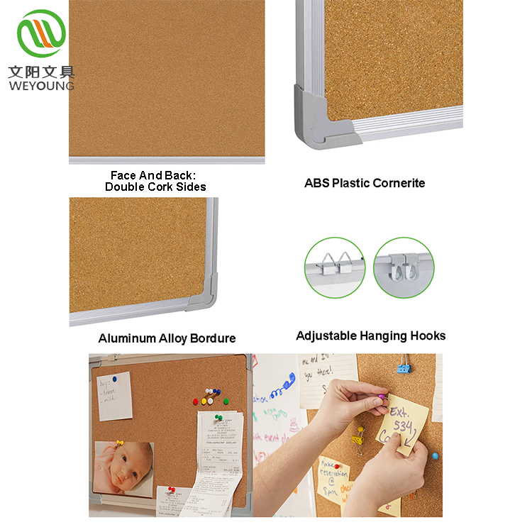 Wall Mounted Cork Board