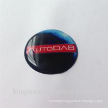 discount 3d doom epoxy sticker with custom logo