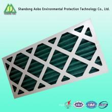 Картон плиссе сетки одноразовые панель предварительного воздушного фильтра
