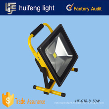 Outdoor portable rechargeable 50w led flood lights