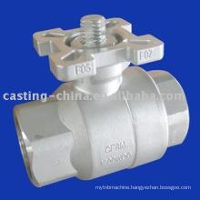 cast type valve ball