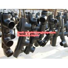 Cangzhou BW seamless and welded pipe tee